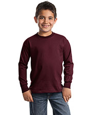 Port & Company PC61YLS Boys Long Sleeve Essential T-Shirt at GotApparel