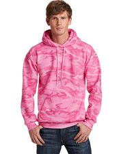 Port & Company PC78HC  ® Core Fleece Camo Pullover Hooded Sweatshirt. at GotApparel
