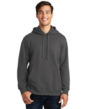 Port & Company PC850H Men   Fan Favorite Fleece Pullover Hooded Sweatshirt at GotApparel