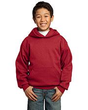 Port & Company PC90YH Boys Pullover Hooded Sweatshirt at GotApparel