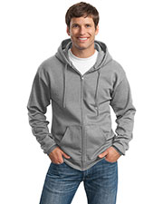 Port & Company PC90ZH Men Ultimate FullZip Hooded Sweatshirt at GotApparel
