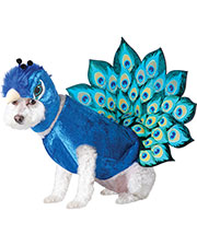 California Costumes PET20117  PEACOCK DOG COSTUME at GotApparel