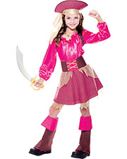 Halloween Costumes PM769678 Girls Captain Cutie Child 10-12 at GotApparel