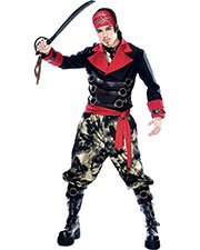 Halloween Costumes PM789011 Men Apocalypse Pirate Mens Large at GotApparel