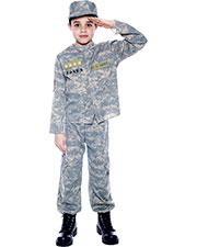 Halloween Costumes PM807826 Boys Us Army Officer Small at GotApparel