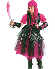 Halloween Costumes PP4211SM Girls Caribbean Pirate Child Sm 6 at GotApparel