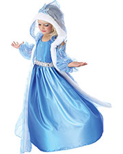 Halloween Costumes PP4381XS Girls Icelyn Winter Princess Child 4 at GotApparel