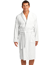 Port Authority R103 Men Checkered Terry Shawl Collar Robe at GotApparel