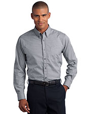 Red House RH66 Adult Mini Check Non-Iron Button-Down Shirt at GotApparel