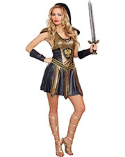 Halloween Costumes RL10273LG Women Deadly Warrior Woman Large at GotApparel