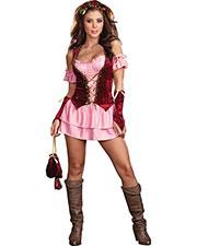 Halloween Costumes RL5863LG Women Pleasure Faire Wench Lg 10-14 at GotApparel