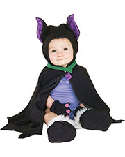 Halloween Costumes RU11743I Infants Lil Bat Caped Costume 3-12 Mos at GotApparel