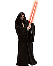 Halloween Costumes RU16223 Men Sith Robe Hooded Dlx at GotApparel