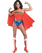 Halloween Costumes RU16405LG Women Wonder Woman Large 14-16 at GotApparel