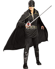 Halloween Costumes RU16916 Men Zorro Std at GotApparel