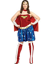 Halloween Costumes RU17440 Women Wonder Woman Plus Size at GotApparel