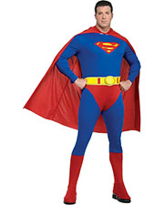 Halloween Costumes RU17475 Men Superman Plus Size at GotApparel