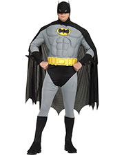 Halloween Costumes RU17486 Men Batman Musc Chest 44-50 at GotApparel