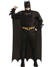 Halloween Costumes RU17497 Men Batman Dlx Muscle Chest Plus S at GotApparel