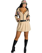Halloween Costumes RU17593 Women Ghostbusters Female Plus Size at GotApparel