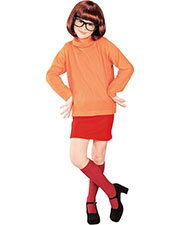 Halloween Costumes RU38963LG Girls Scooby Doo Velma Child Lg at GotApparel