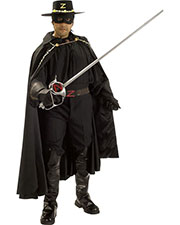 Halloween Costumes RU56166 Men Zorro Grand Heritage Adult at GotApparel
