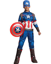 Halloween Costumes RU610425MD Boys Captain America Child Med at GotApparel