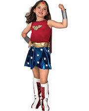 Halloween Costumes RU82312SM Girls Wonder Woman Child Small at GotApparel