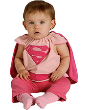 Halloween Costumes RU885105 Infants Supergirl Bib Infant at GotApparel