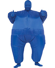 INFLATABLE SKIN SUIT BLU at GotApparel