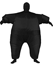 INFLATABLE SKIN SUIT BLA at GotApparel