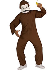 Halloween Costumes RU888026 Men Curious George Std at GotApparel