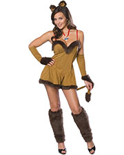 Halloween Costumes RU888295MD Women Cowardly Lioness Scrt Wish Med at GotApparel