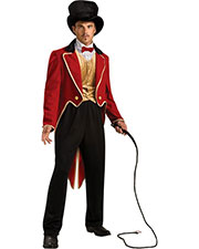 Halloween Costumes RU889343 Men Ring Master Costume Std at GotApparel