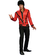 Halloween Costumes RU889348MD Men Mj Rd Thriller Jckt Adl Md at GotApparel