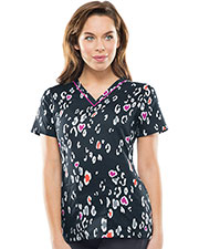 Runway RW606X8 Women V-Neck Top at GotApparel