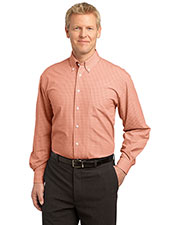 Port Authority S639 Men Plaid Pattern Easy Care Shirt at GotApparel
