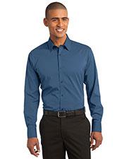 Port Authority S646 Men Stretch Poplin Shirt at GotApparel