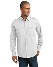 Port Authority S649 Men Stain Resistant Roll Sleeve Twill Shirt at GotApparel