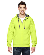 Fruit of the Loom SF73R Adult 7.2 oz. Sofspun FullZip Hooded Sweatshirt at GotApparel