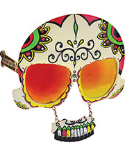 Halloween Costumes SG1587  SUNSTACHE SUGAR SKULL at GotApparel