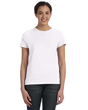 Hanes SL04 Women 4.5 Oz. 100% Ringspun Cotton Nanot T-Shirt at GotApparel