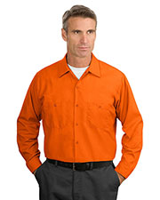 Red Kap® SP14 Men's Long-Sleeve Industrial Work Shirt at GotApparel