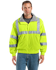 Port Authority® SRJ754 Men's Enhanced Visibility Challenger™ Jacket with Reflective Taping at GotApparel