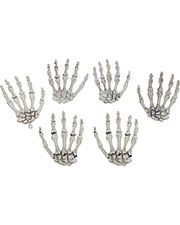Halloween Costumes SS88534  SKELETON HANDS at GotApparel