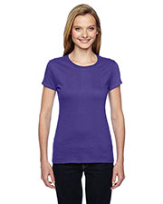 Fruit of the Loom SSFJR Women Ssf Junior 4.7 Oz. 100% Sofspun Cotton Jersey Crew T-Shirt at GotApparel