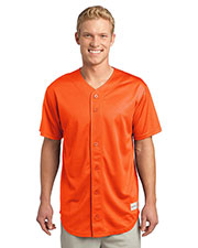 Sport-Tek® ST220 Men PosiCharge® Tough Mesh Full-Button Jersey at GotApparel