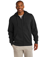Sport-Tek® ST258 Men Full-Zip Hooded Sweatshirt at GotApparel