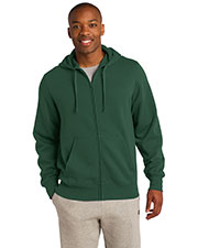 Sport-Tek ST258 Men FullZip Hooded Sweatshirt at GotApparel