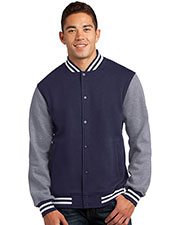 Sport-Tek® ST270 Men Fleece Letterman Jacket at GotApparel